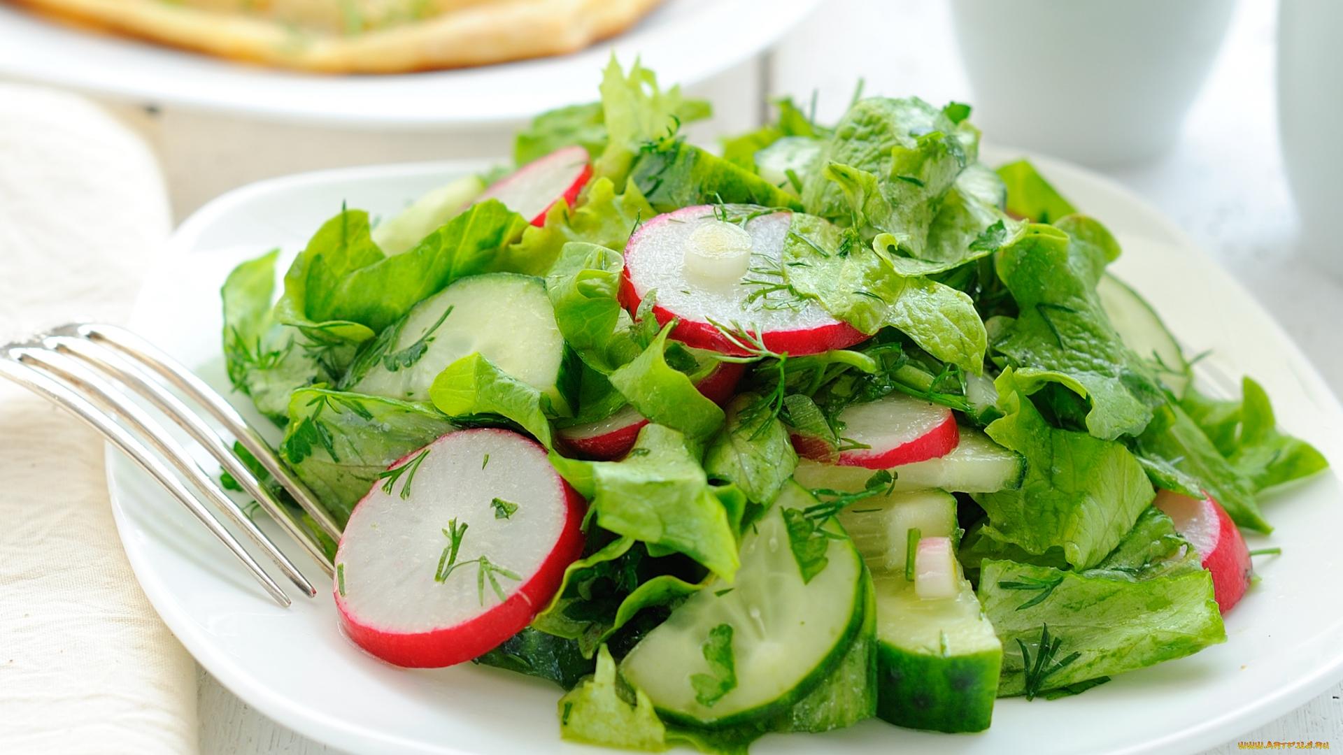 3 вкусных весенних салата