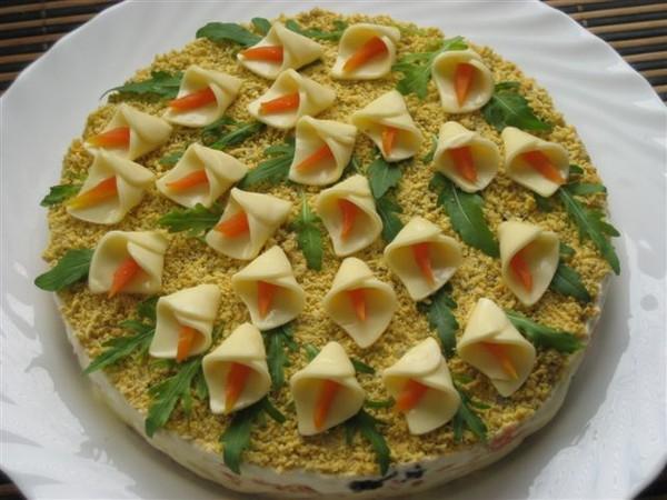 салат с яйцами рецепты простые и вкусные