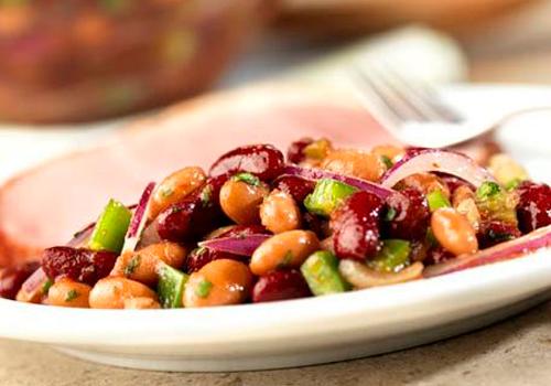 Салат «Изюминка» из красной фасоли