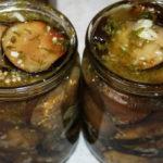 Салат десятка из баклажан