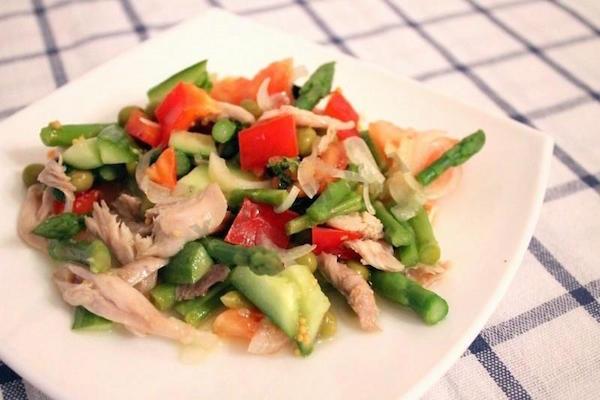 пряный салат фото